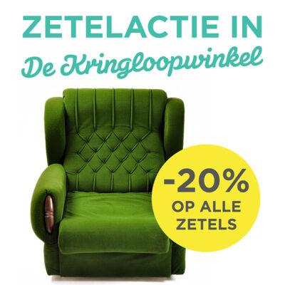 Zetelactie in De Kringloopwinkel