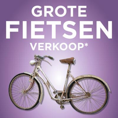 Massaverkoop van niet-gecontroleerde fietsen