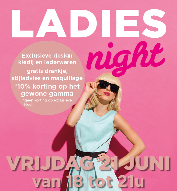Ladies night in De Kringloopwinkel Wevelgem